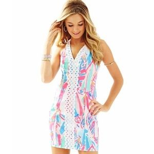 Lilly Pulitzer Shift Dress in Out to Sea